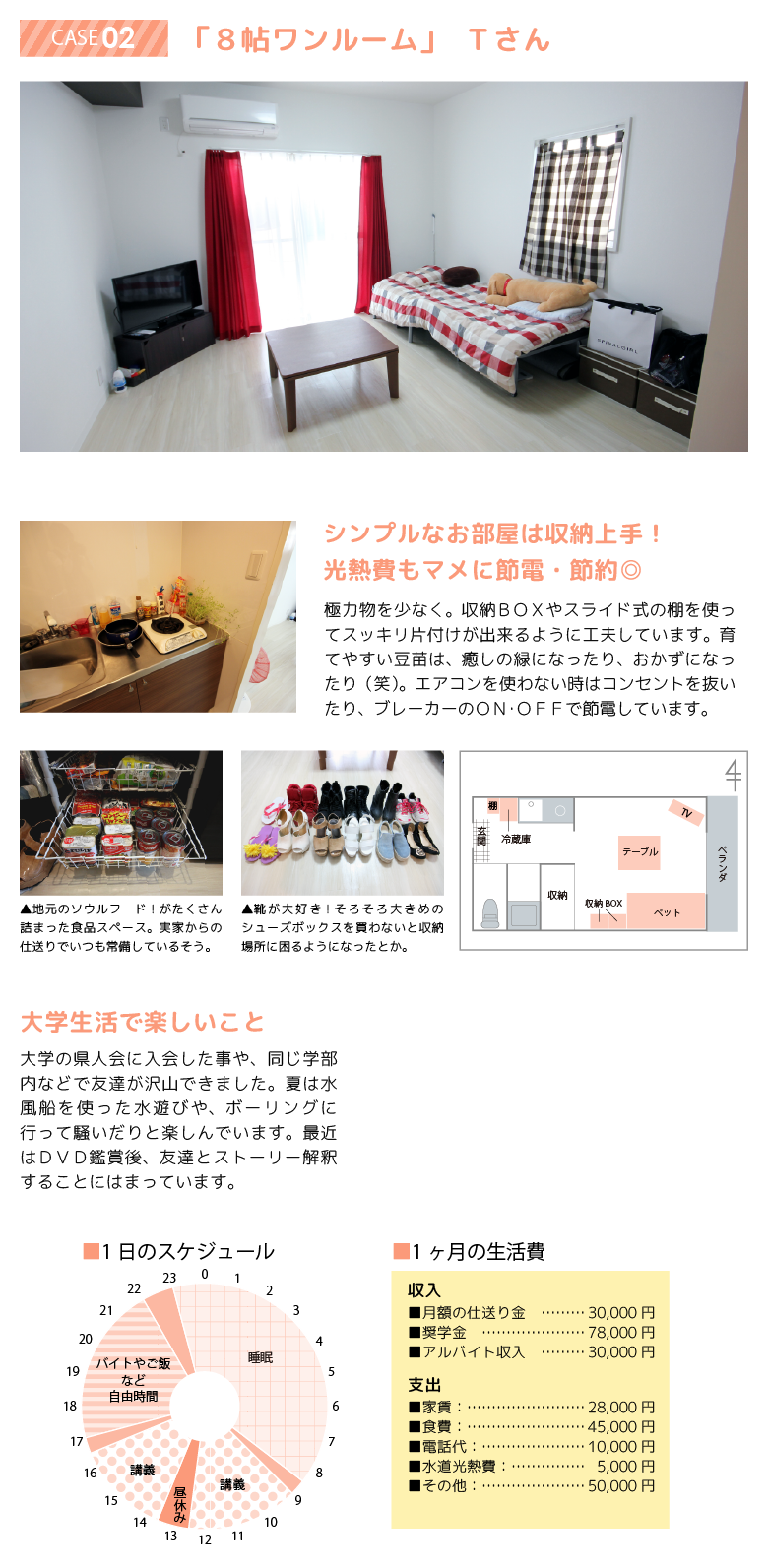 先輩のお部屋 case02