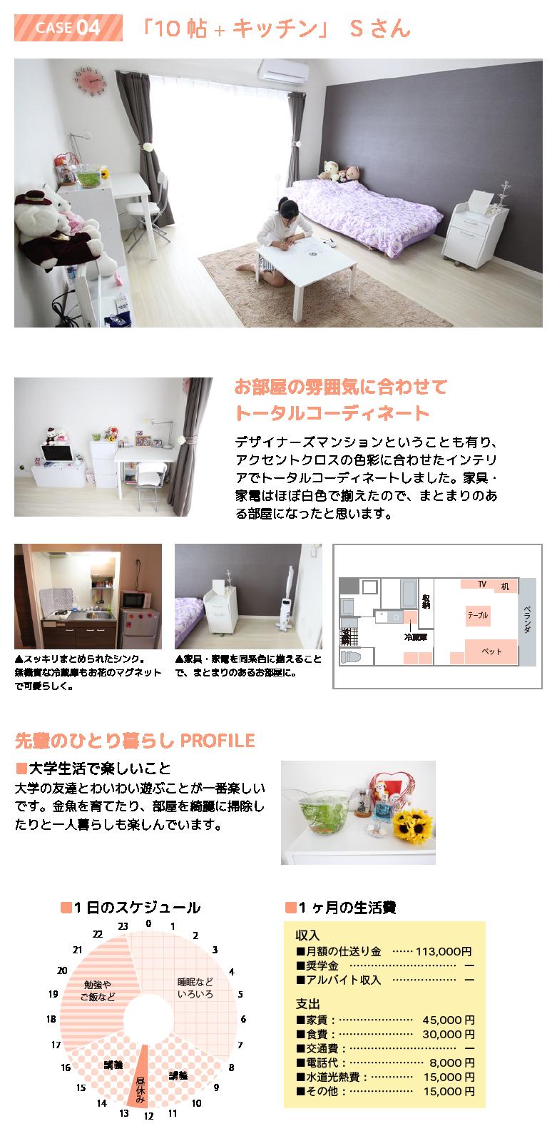 先輩のお部屋 case04