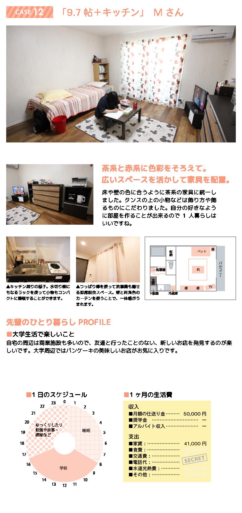 先輩のお部屋 case12