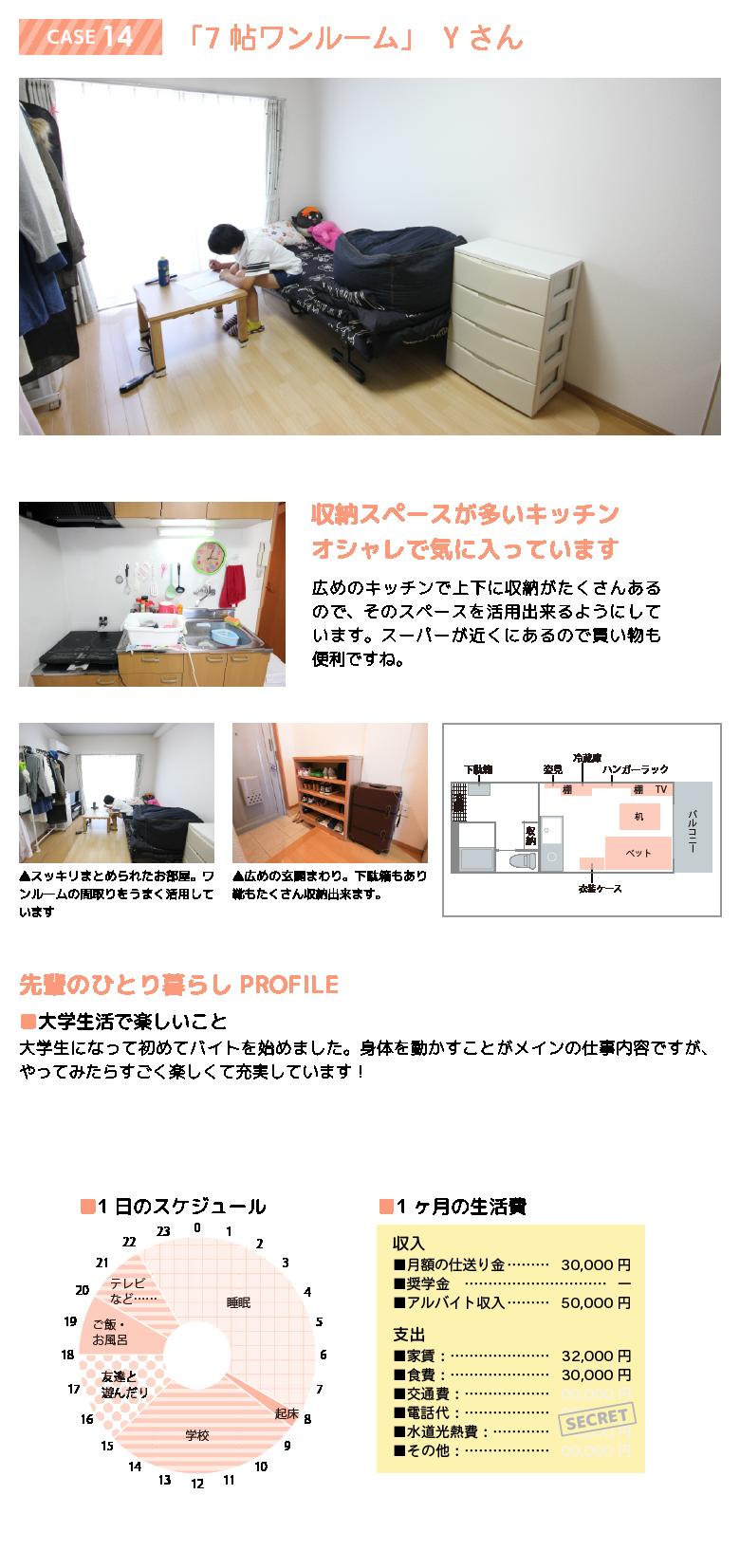 先輩のお部屋 case14