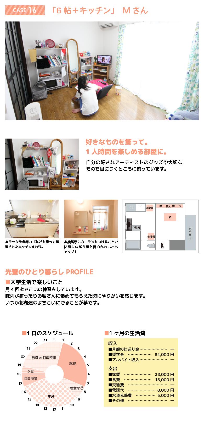 先輩のお部屋 case16